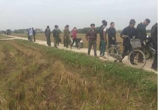 Nam Định: Phát hiện thi thể cô gái dưới mương nước