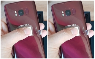 Điện thoại Samsung Galaxy S8 Burgundy Red đẹp mê mẩn trước giờ lên kệ