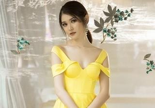 Á hậu Thùy Dung khoe vẻ đẹp thanh khiết