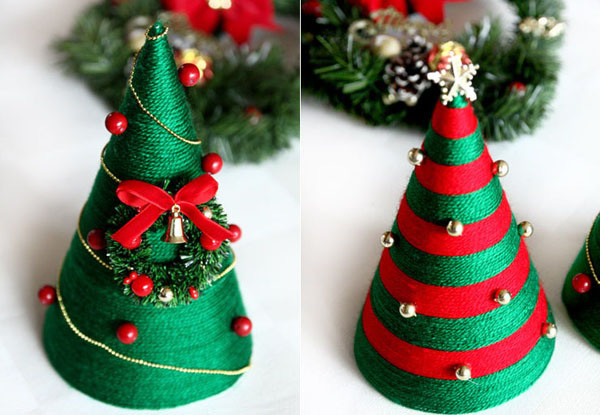 Hướng dẫn làm đồ trang trí Giáng Sinh handmade đẹp
