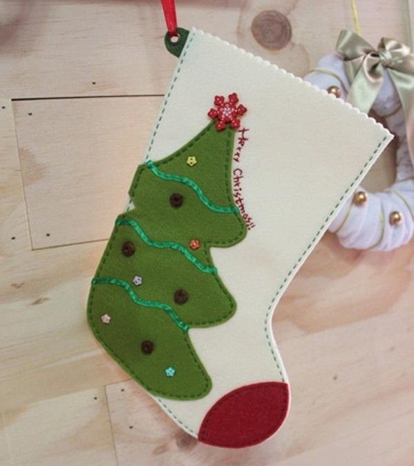 Hướng dẫn làm đồ trang trí Giáng Sinh handmade đẹp 2