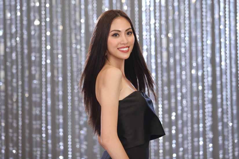Hé lộ hình ảnh thí sinh Hoa hậu Hoàn vũ Việt Nam quay quảng bá cho đêm chung kết 5