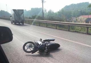 Chiến sĩ CSGT bị xe máy tông trên cao tốc Hà Nội - Thái Nguyên đã tử vong