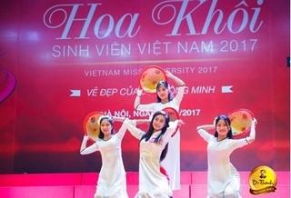 Vòng bán kết Hoa khôi Sinh viên 2017: Thí sinh khoe vẻ đẹp tươi tắn trong tà áo dài