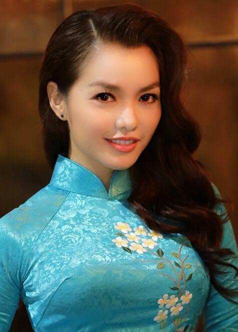 Nàng Hơn Hồng Kim Hạnh diện áo dài khoe vẻ đẹp ngọt ngào 9