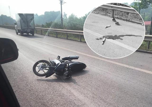 Danh tính người lái xe máy đâm CSGT tử vong trên cao tốc