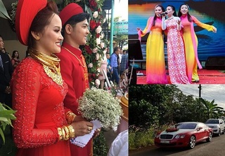 Đồng Nai: Đám cưới với siêu xe, hồi môn khủng và ca sĩ Cẩm Ly về hát gây bão
