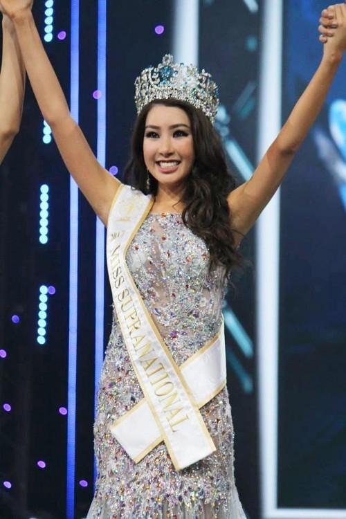 Tân Hoa hậu Siêu quốc gia bị chê má phính, thần sắc kém thanh toát 2