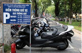 Hà Nội đề xuất tăng giá trông giữ xe máy, ô tô từ 2018