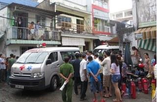 Xót thương 3 mẹ con chết cháy lúc rạng sáng ở Sài Gòn