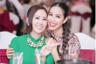 Hoa hậu Thu Hoài tiếp tục bóng gió Phạm Hương bội bạc, vô ơn?