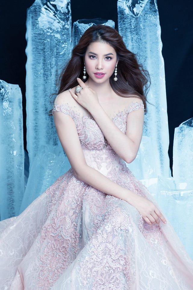 Hoa hậu Phạm Hương hóa công chúa trong bộ ảnh mới 6