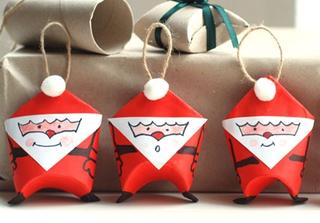 Cách làm ông già Noel dễ thương từ giấy nhân dịp Giáng sinh