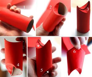 Cách làm ông già Noel dễ thương từ giấy để trang trí Giáng sinh