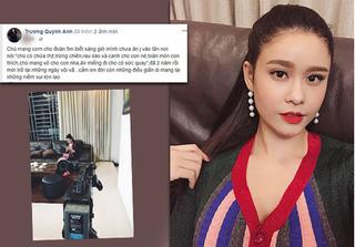 Trương Quỳnh Anh lần đầu chia sẻ trên mạng xã hội sau lùm xùm ảnh thân mật với Bình Minh