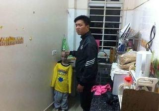 Tạm giữ hình sự người cha bạo hành con trai 10 tuổi ở Hà Nội