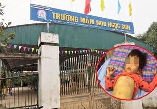Kỷ luật hiệu trưởng vụ bé 4 tuổi bị đánh tại trường ở Bắc Giang
