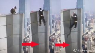 Lộ nguyên nhân diễn viên võ thuật tử vong khi quay clip từ tầng 62