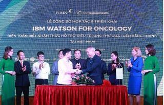 Đưa công nghệ IBM Watson for Oncology vào điều trị ung thư ở Việt Nam