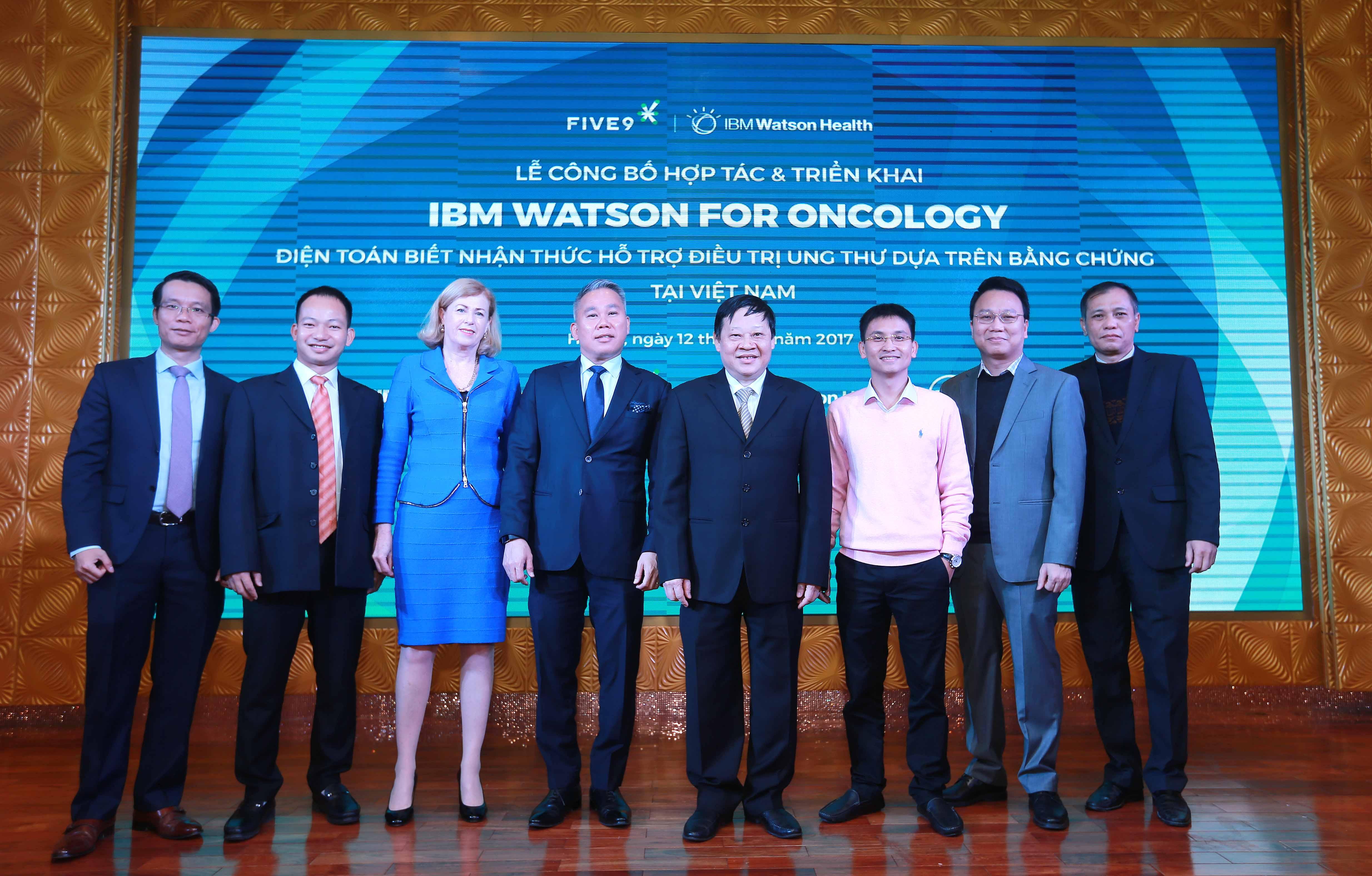 lễ công bố công nghệ IBM Watson for Oncology tại Việt Nam