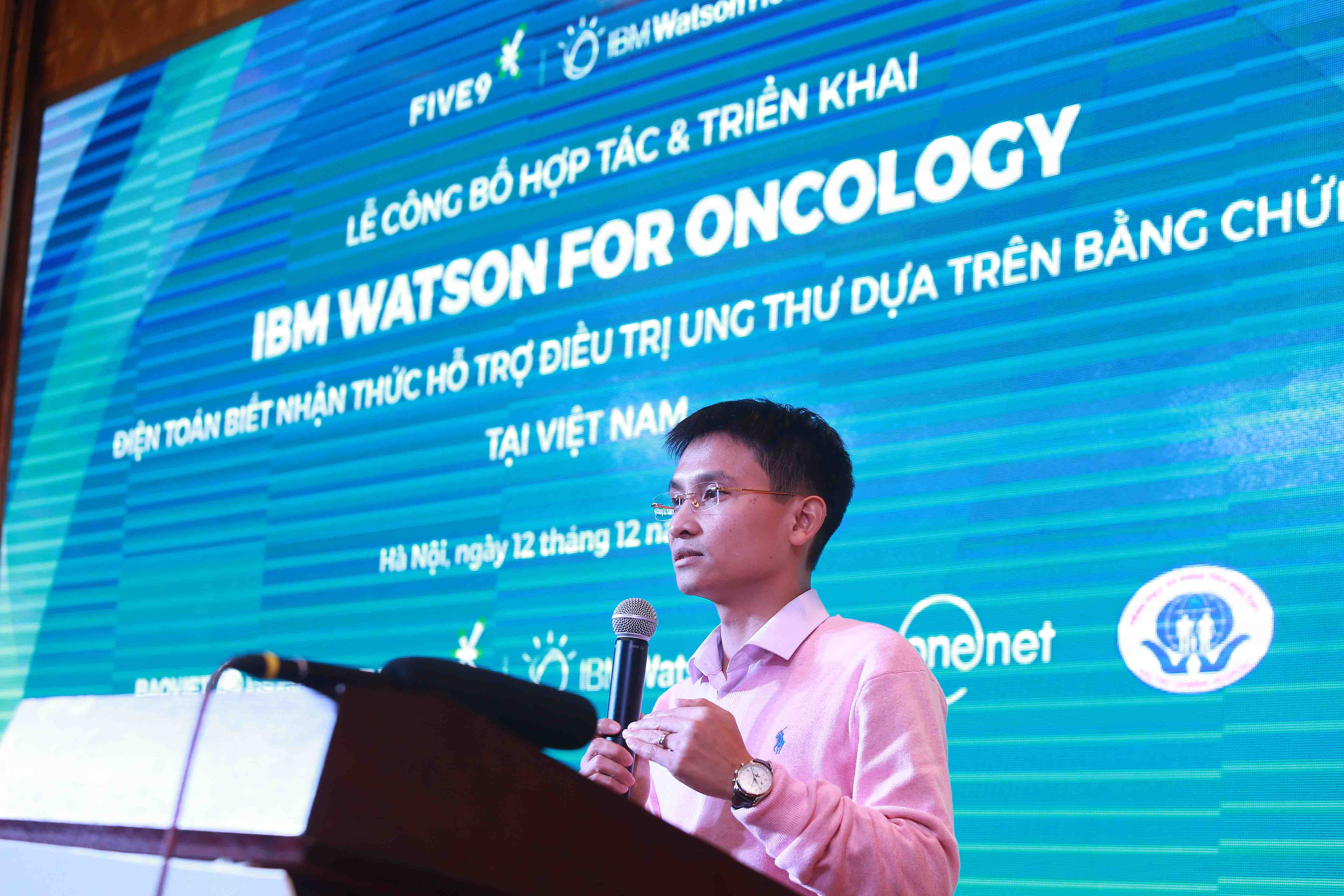 Five 9 ông nguyễn trọng huấn công nghệ IBM Watson for Oncology tại Việt Nam