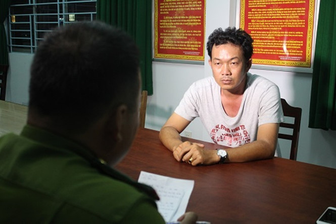 Khởi tố bắt giam chủ xe cẩu chém tài xế ở BOT Cai Lậy