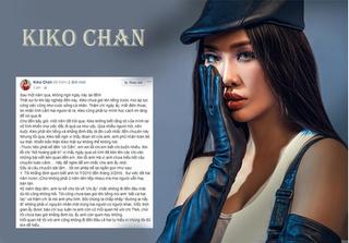 Kiko Chan tiếp tục tố Kim Lý