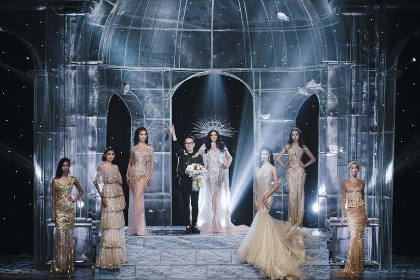 Những nữ thần quyến rũ của Nhà thiết kế Chung Thanh Phong trong show Shes A Goddess