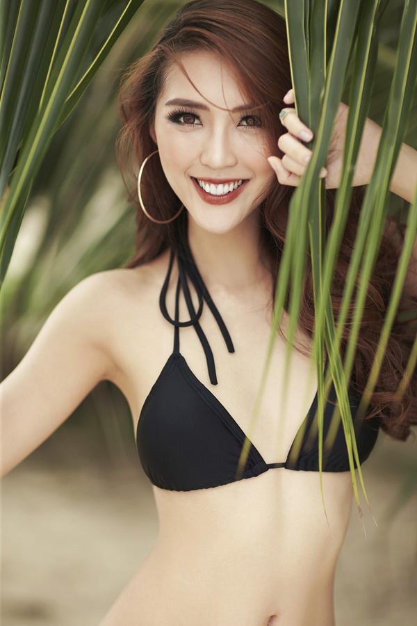 Hoa hậu The Face Tường Linh khoe eo thon dáng đẹp với bikini 6
