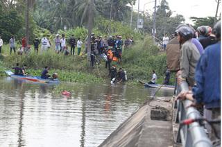 Bình Dương: Cãi nhau giữa cầu, đôi nam nữ nhảy sông mất tích