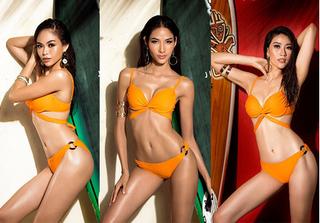 Hé lộ bộ ảnh Glamshot khoe hình thể quyến rũ của thí sinh Hoa hậu HVVN