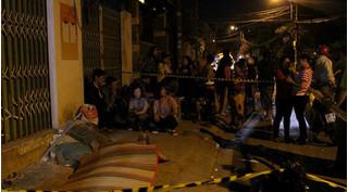 Người đàn ông bất ngờ gục chết giữa đêm lạnh ở Sài Gòn
