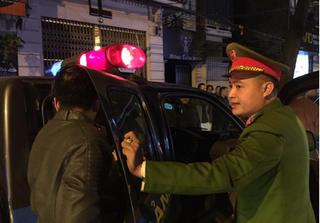 Hà Nội: Gây tai nạn liên hoàn còn lớn tiếng chửi bới công an
