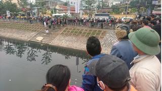 Hà Nội: Tá hỏa phát hiện thi thể người đàn ông trên sông Tô Lịch