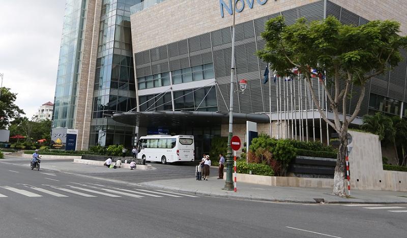 Khu đất này cộng với đất khách sạn sông Hàn được bán năm 2007