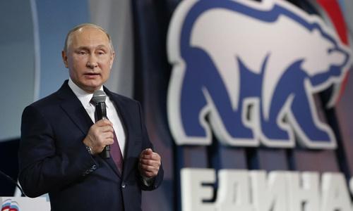 Putin khẳng định Nga không tìm cách đối đầu với quốc gia khác