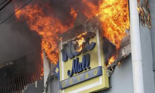 Trung tâm mua sắm ở Philippines chìm trong biển lửa, gần 40 người chết