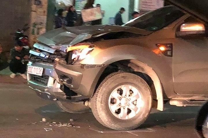 Tạm giữ tài xế xe bán tải tông tử vong 4 người ở Thái Nguyên