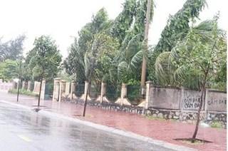 Ảnh hưởng của bão Tembin, Côn Đảo mưa xối xả, gió giật mạnh
