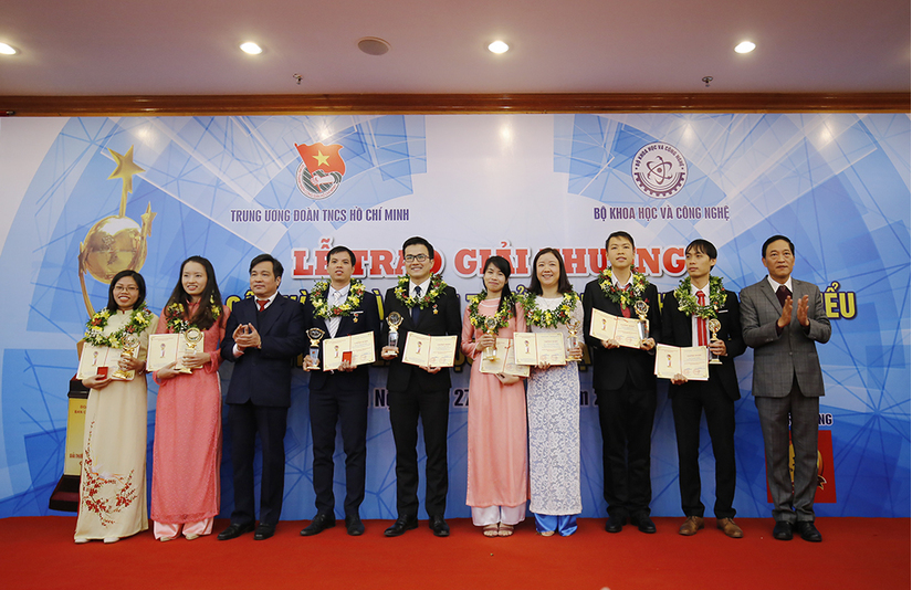 Tân Hiệp Phát và giải thưởng KHCN Thanh niên Quả Cầu Vàng