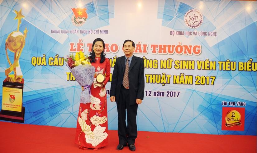 Tân Hiệp Phát và giải thưởng KHCN Thanh niên Quả Cầu Vàng 4