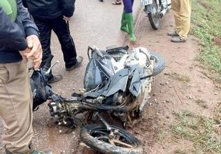 Bắc Giang: Xe máy va chạm với xe ô tô, một người tử vong