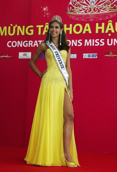 Hoa hậu Hoàn vũ Thế giới 2008 trở lại Việt Nam sau 10 năm đăng quang 2