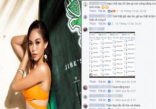 """Nghi vấn Mâu Thủy lọt top đầu """"Best Social Media"""" nhờ… hack like?"""
