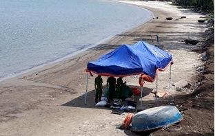 Phát hện thi thể nam giới trôi dạt vào bãi tắm ở Đà Nẵng