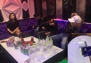 Bắt nhiều người mở tiệc ma tuý ở quán karaoke trong đêm giao thừa