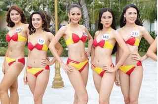 Thí sinh Hoa hậu Hoàn vũ bốc lửa trong phần thi Người đẹp Biển