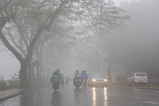 Dự báo thời tiết ngày 5/1: Mưa ẩm còn bao trùm Bắc Bộ đến hết tuần