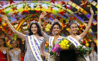 H'hen Niê đăng quang ngôi vị Hoa hậu Hoàn vũ Việt Nam 2017