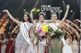 Hai điều trùng hợp đến bất ngờ của Top 3 Hoa hậu Hoàn vũ Việt Nam 2017